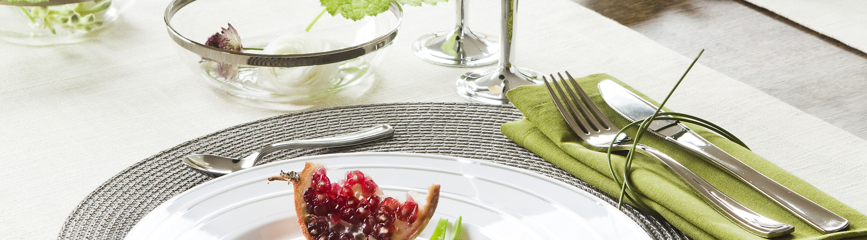 High-end tableware Solutions by Sabert